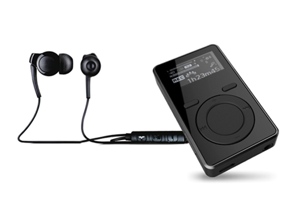 BJ-M30 clip mp3 with FM transmitter and remote control